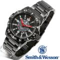 【キャンペーン対象外】 Smith & Wesson スミス&ウェッソン EMISSARY WATCH 腕時計 BLACK SWISS TRITIUM SWW-88-B