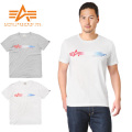 ALPHA アルファ TC1126 S/S プリント Tシャツ GRADATION