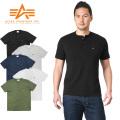 ALPHA アルファ TC1165 S/S ヘンリーネック ポケット Tシャツ