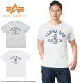 ALPHA アルファ TC1170 S/S FELIX プリント Tシャツ N-3B