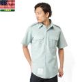 実物 新品 米陸軍 ARMY 半袖ドレスシャツ