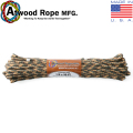 ATWOOD ROPE MFG. ���ȥ��åɡ��?�� 1/4��50FT Utility �?�� CAMOUFLAGE