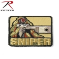 ROTHCO ロスコ 72187 SNIPER パッチ