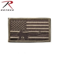 ☆創業祭☆20%OFF☆ROTHCO ロスコ 72204 SUBDUED FLAG W/RIFLE パッチ