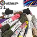 ATWOOD ROPE MFG. アトウッド ロープ タクティカルコード 3/32X100フィート 34色 (パラシュートコード)