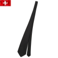 実物 新品 スイス軍 ネクタイ ブラック