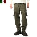 実物 新品 イタリア軍 パラシュートカーゴパンツ