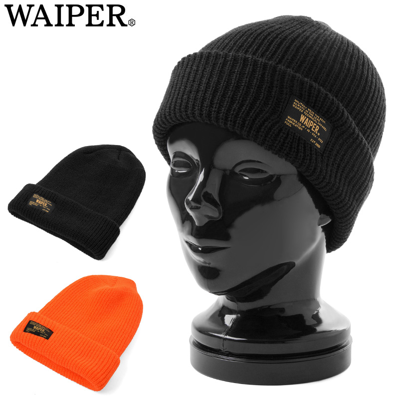 ☆15%OFFセール☆WAIPER.inc MADE IN USA ACRYLIC ワッチキャップ #2