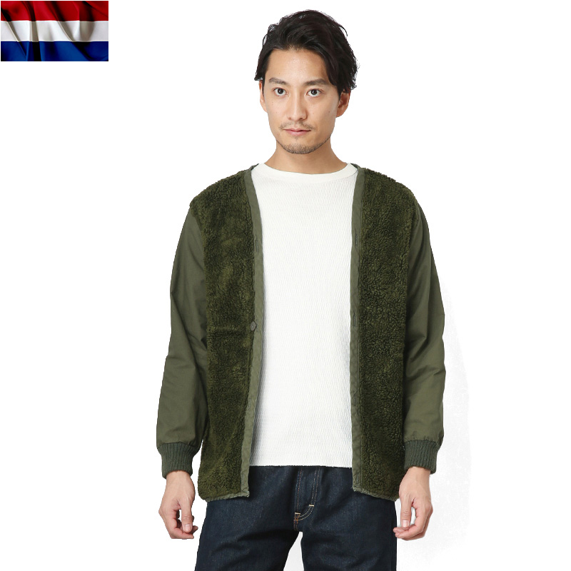 ☆20%OFFセール☆実物 オランダ軍 ボアライナー USED OLIVE
