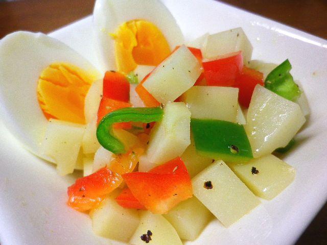 ジャガイモのシャキッとサラダ