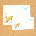 北海道犬と雪輪レターセット