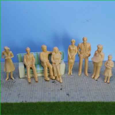住宅模型人形