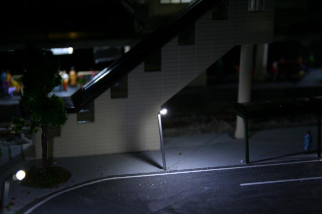 NゲージLED街灯模型