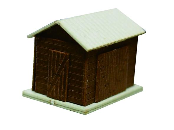 1/200小屋模型