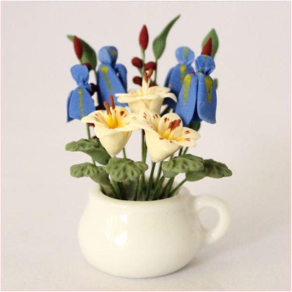 ドールハウス植物花