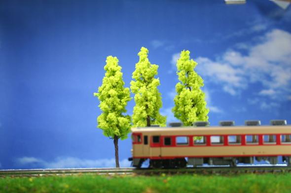 樹木模型 鉄道模型