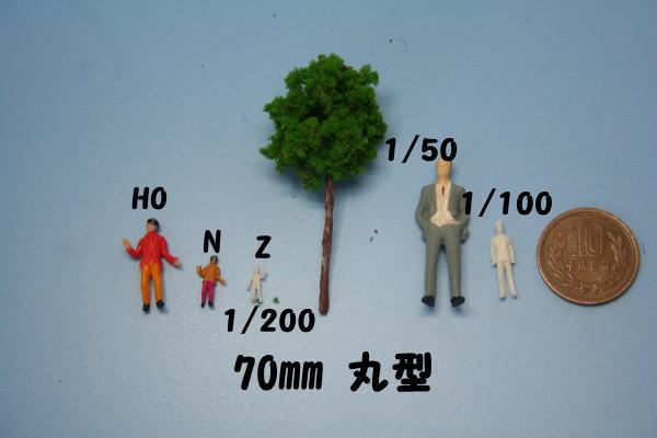 ジオラマ樹木 人形