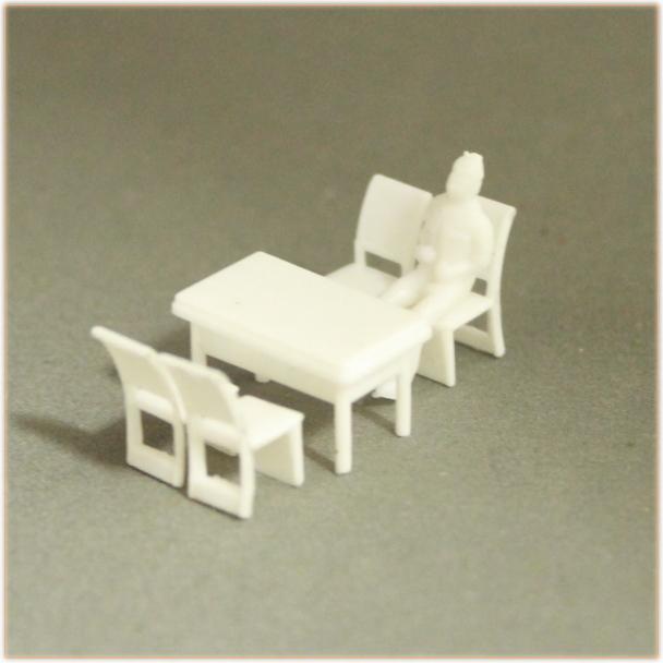 ミニチュアテーブルセット