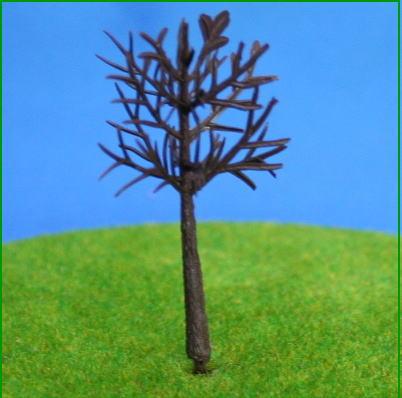 ジオラマ樹木