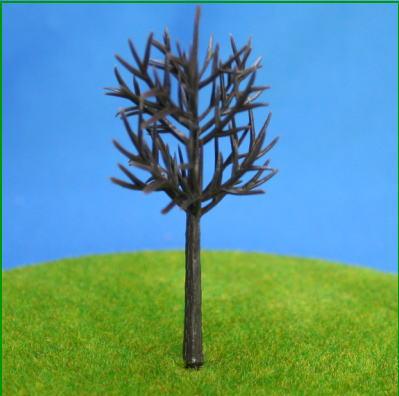 ミニチュアの樹木
