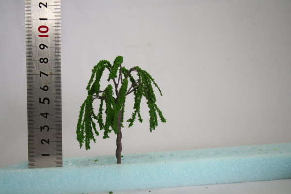 柳樹木模型