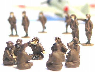 1/144AFV 人形キット 日本軍航空兵1【YSK】【鉄道模型】【カラーレジン製】【情景模型】【Nゲージ】