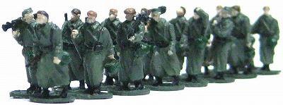 1/144AFV 人形キット 行軍ドイツ兵2【YSK】【鉄道模型】【カラーレジン製】【情景模型】【Nゲージ】