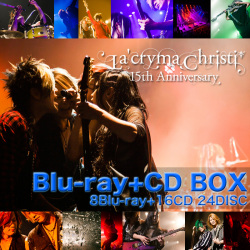 La'cryma Christi 15th Anniversary Live -Special Blu-ray+CD BOX-