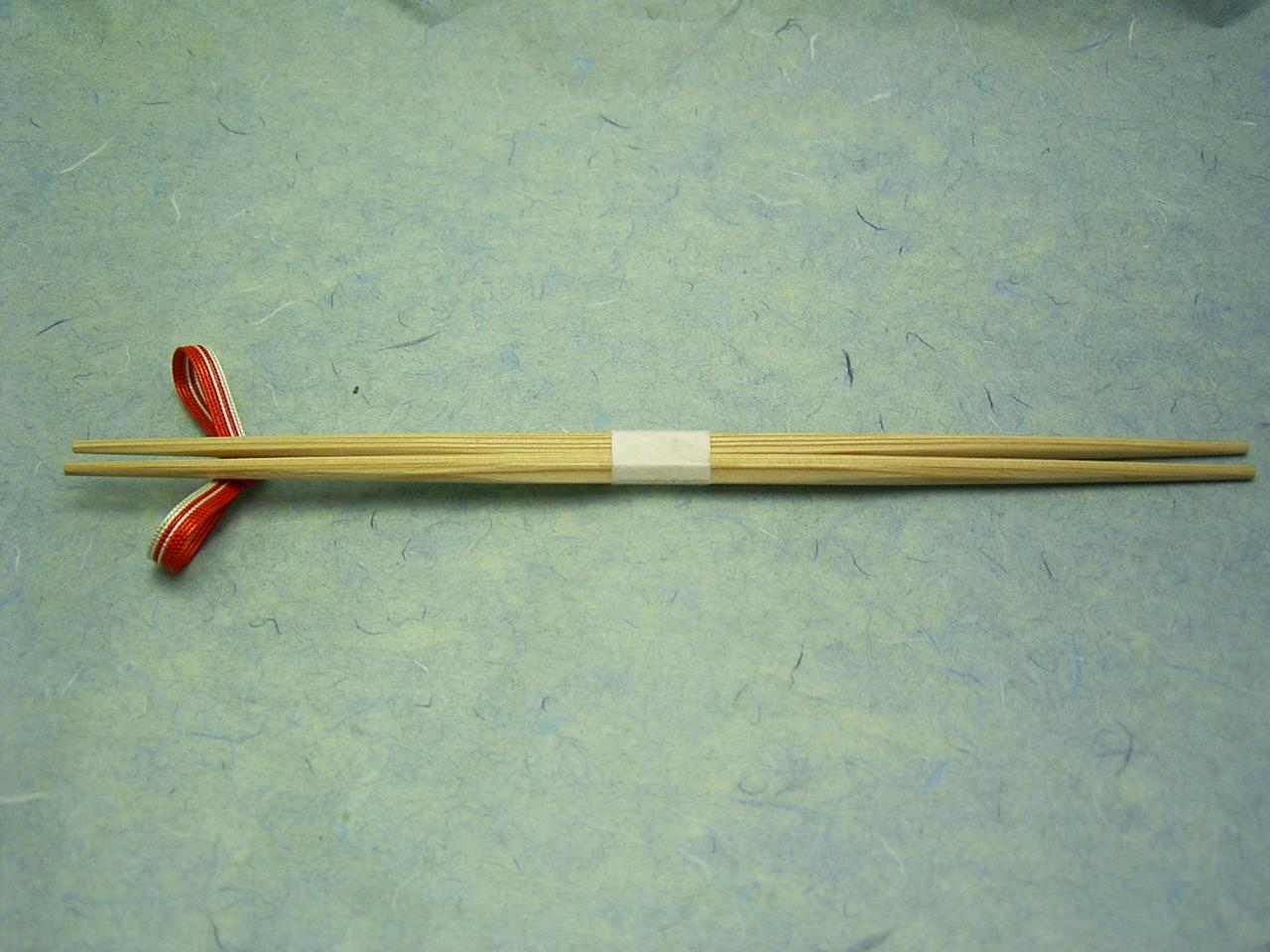 杉箸 五角らんちゅう 白 24cm 100膳