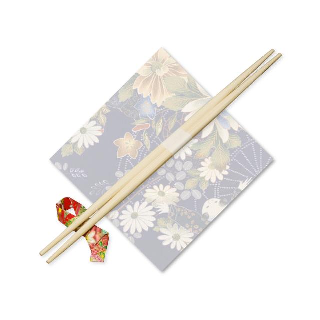 9寸竹箸らんちゅう白帯付 24cm 1,000膳 1ケース