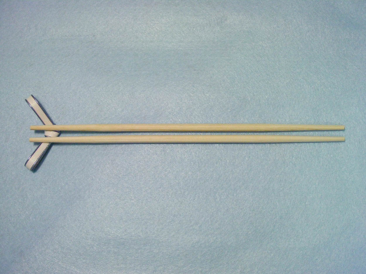祝箸 9寸桧両細(国産) 24cm 100膳