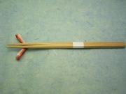 杉箸 五角箸 紅 24cm 100膳