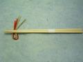 9寸あすか箸 白帯付 24cm 1,000膳 1ケース