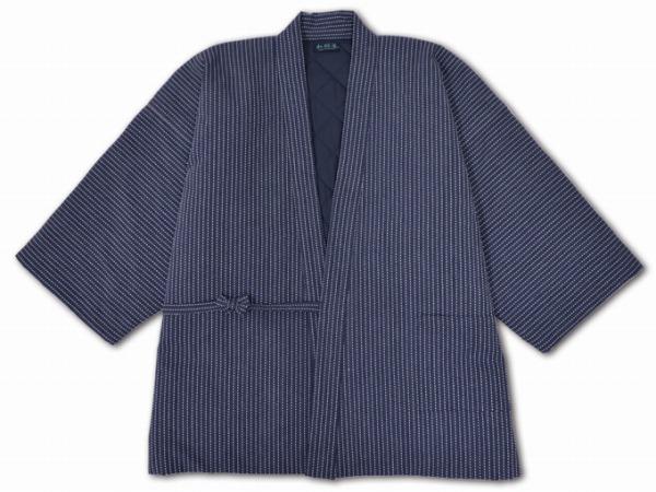 刺子織綿入れはんてん