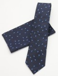 ブルーリボン ネクタイ 紺