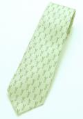 ネクタイ うさぎグリーン