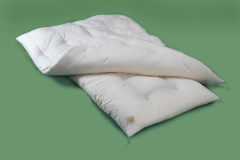 ベビー用組布団、オーガニックコットン(有機栽培)100%
