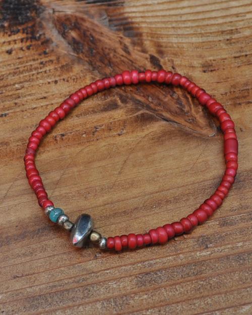 WATER限定 39 (SunKu/サンク) Antique Beads Bracelet / アンティークビーズ ブレスレット