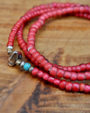 WATER限定 39 (SunKu/サンク) Antique Beads Necklace & Bracelet / アンティークビーズ ネックレス&ブレスレット