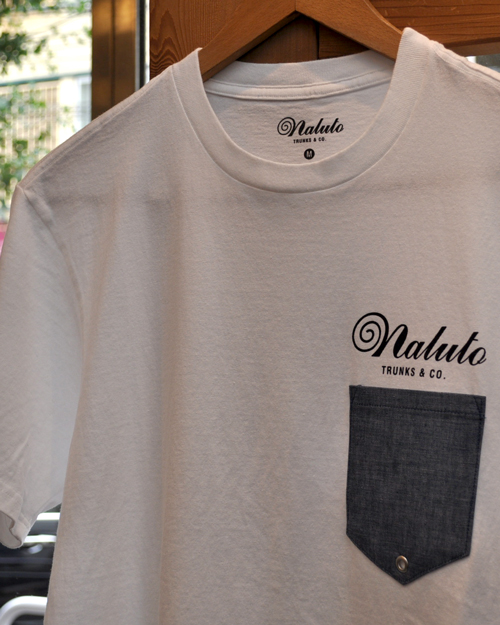 【DM便可】NALUTO TRUNKS (ナルトトランクス) CHAMBRAY POCKET TSHIRTS