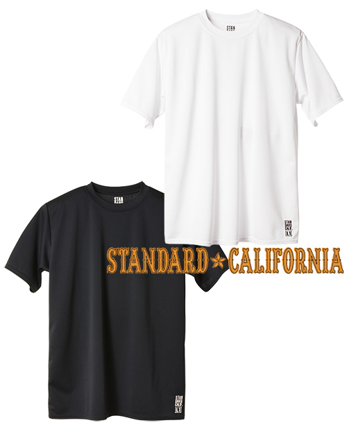 STANDARD CALIFORNIA (スタンダードカリフォルニア) Tech Dry Daily First Layer Short Sleeve T / DLS L1