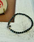 39 (SunKu/サンク) Antique×Turquise Beads Bracelet / アンティーク & ターコイズビーズ ブレスレット