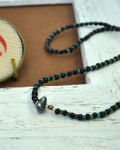 39 (SunKu/サンク) Antique×Turquise Beads Necklace&Bracelet / アンティーク & ターコイズビーズ ネックレス&ブレスレット