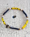 WATER x 39 (SunKu/サンク) Kangaba&Indigo Beads Bracelet / カカンバ&インディゴビーズ ブレスレット