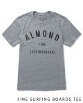 【MADE IN CALIFORNIA】ALMOND SURFBOARDS (アーモンドサーフボード) LOGO TEE/ロゴT