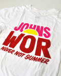 ��50%OFF�ա�����󥺥����ա�JOHN'S WOR NEVER NOT SUMMER T