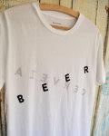 "Quality Peoples (クオリティーピープル) ""Beer/Cervesa(ビール/セルベッサ)"" Crew T"