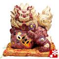 九谷焼 8号立獅子 盛(WAZAHONPO-41861)