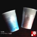 ペアビアカップ 銀彩(WAZAHONPO-41114)