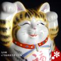絵馬両手招き猫(右手・左手) 金彩釉(WAZAHONPO-41714)